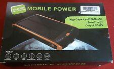 23000mAh Battery Laptop Charger Solar Power Bank 5V 12V 16V 19V/Phone Tablet