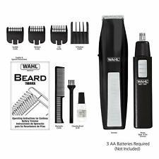 Wahl Cordless Battery Beard Mustache Trimmer Hair Shaver Groomer 55371801