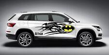 TRIBAL BATMAN LOGO DESIGN DECAL VINYL GRAPHIC SIDE CAR TRUCK