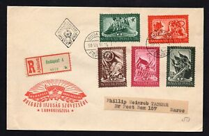 Hungary 1936-50 cover, FDS 2lot