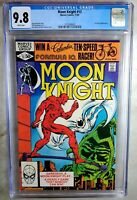 Moon Knight #13 Daredevil App Marvel 1981 CGC 9.8 NM/MT White Pages Comic N0013