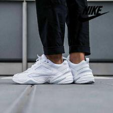 Nike M2K Tekno Sneakers Triple White Platinum AV4789-101 Men's Shoes Size 10