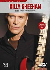 Billy Sheehan: IMHO (In My Humble Opinion) Bass Guitar Learn to Play MUSIC DVD