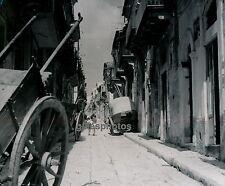 RAGUSE c. 1950 - Rue Attelages Sicile Italie - DIV1593