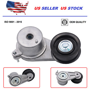 Drive Belt Tensioner Pulley For Infiniti EX35 FX35 G35 G37 M35 M37 2008-2013