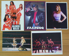 WRESTLING AUTOGRAPH LOT 2 - 80's and 90's WWF - WCW - More! - 12 Autographs