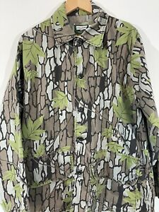 Vintage Mens XL Trebark Camouflage Camo Hunting Jacket Light Weight