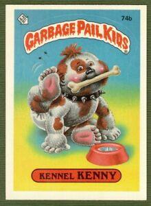 1985 GPK Garbage Pail Kids Series 2 Kennel Kenny 74b Spaz Award