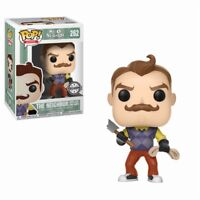 FUNKO POP HELLO NEIGHBOR - THE NEIGHBOR WITH AXE & ROPE EXCLUSIVE FIGUR NEU/OVP
