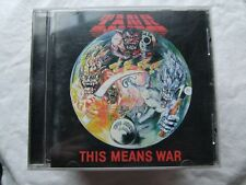"""TANK-"""" THIS MEANS WAR"""" CD 1997"""
