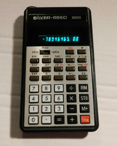 Silver Reed Vintage VFD Calculator 86S Working