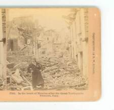 B3005 In The Heart Of Messina After 1908 Earthquake Italy D