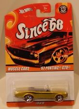 '67 Pontiac GTO Hot Wheels 2008 Muscle Cars Anniversary Since 68