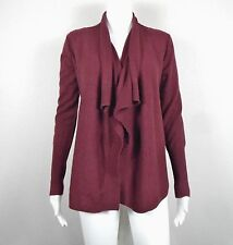 INHABIT ~ Open Front Drape Cardigan Sweater 100% CASHMERE ~ Size P (Fits a 4)