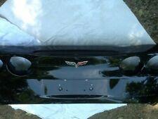 Corvette 2005-2013 black rear facia