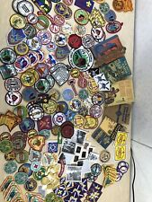 Lot of BSA Boy Scouts of America Patches Books Photos Stickers 1950s - 1990s