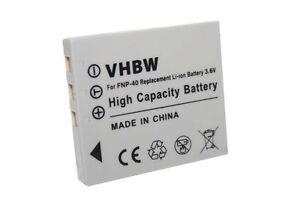Batterie pour FUJI NP-40 NP-40N N NP40 ACCU