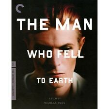 The Man Who Fell To Earth- Blu-ray- Criterion-Bowie NEW/SEALED OOP