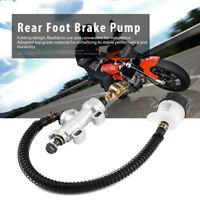 Universale Moto Freno Posteriore Pompa Serbatoio Idraulico Cilindro per Honda