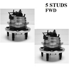 Front Wheel Hub Bearing Assembly For 2008-2010 CHEVROLET COBALT L4 2.0L 2WD PAIR