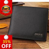 New JINBAOLAI Genuine Leather Men Wallet Fashion Short Bifold Casual Coin Pocket