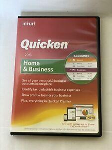 Intuit Quicken Home & Business 2013 for Windows XP/Vista/7