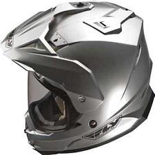Fly Racing NEW Mx Trekker Silver Off Road Adventure Dual Sport Helmet XS
