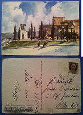 Trieste: Castello di San Giusto e Monumento ai Caduti, Aldo Raimondi, v.ta 1942