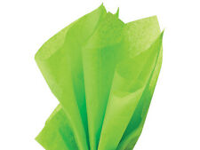 Bright LIME GREEN Tissue Paper WHOLESALE Gift Wedding Wrapping 100 sheets 15x20