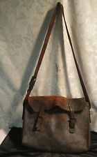 Vintage Leather Mail Carrier Bag • Barn Find • Must See
