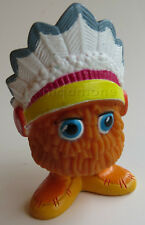LOOSE U-3 McDonald's 1989 Funny Fry Friends UNDER 3 LIL LITTLE CHIEF Indian Kid