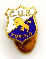 Distintivo C.U.S. Torino Centro Universitario Sportivo (Bertoni S.R.L. Milano)
