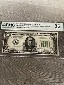 1928 500 dollar bill