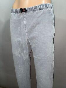 "Gramicci Mens Original Freedom Belted Pants Sz S 31"" Length Cinch Belt Waist"