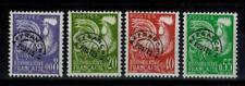 (a41) timbres préoblitérés France n° 119/122 neufs** année 1960