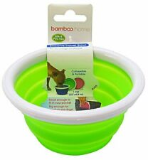 Bamboo Silicone Travel Bowl - Assorted 1-Cup Tray