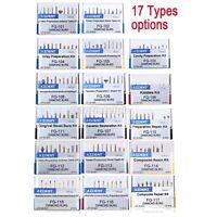 17 Models Dental Diamond Burs FG Burs Drill Composite Polishing Kit FG101-FG117