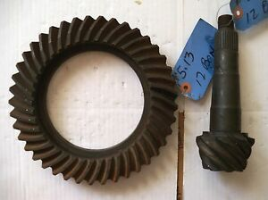 Genuine GM OEM Ring & Pinion 8.875 Chevy Rear End 12 Bolt 5.13 1970s Cars