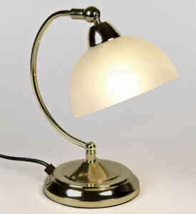 Touch Dimmer Table Lamps Stylish Antique Gold Lighting Bulb Max 40W SES Candle