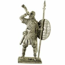 Viking 9-10 century. Tin toy soldiers. 54mm miniature figurine. metal sculpture