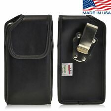 Turtleback iPhone 6 Plus Leather Pouch Holster Case with Headphone Jack Access