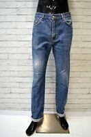 Jeans LACOSTE Uomo Taglia Size 44 Pantalone Pants Man Cotone Blu Gamba Dritta
