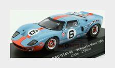 Ford Usa Gt40 4.9L V8 #6 Winner Le Mans 1969 J.Ickx J.Oliver IXO 1:43 LM1969