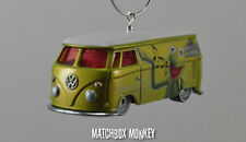 Kermit the Frog Volkswagen T1 Panel Van Bus RV Christmas Ornament VW Muppets
