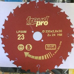 Freud LP20M023 235x2,8x30 Pro Ind Lama Circolare per macchine portatili