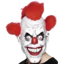Smiffys Masque Clown Effrayant avec Cheveux Jouets et jeux Déguisements