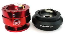 NRG Steering Wheel Short Hub Adapter Quick Release RD Acura 90-93 Integra