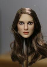 KIMI TOYS 1/6 Female Head Natalie Portman Sculpt KT008 2in. Carved Model Toy