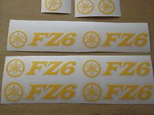 Yamaha Fazer FZ1 FZ6 FZ8 Panel cadena guardfairing Calcomanías Pegatinas 12 año