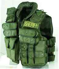 VooDoo Tactical Police & Sheriff Vest  OD Green 20-8403004000 One Size